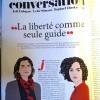 Ασλί Ερντογάν στο Magazine Littéraire